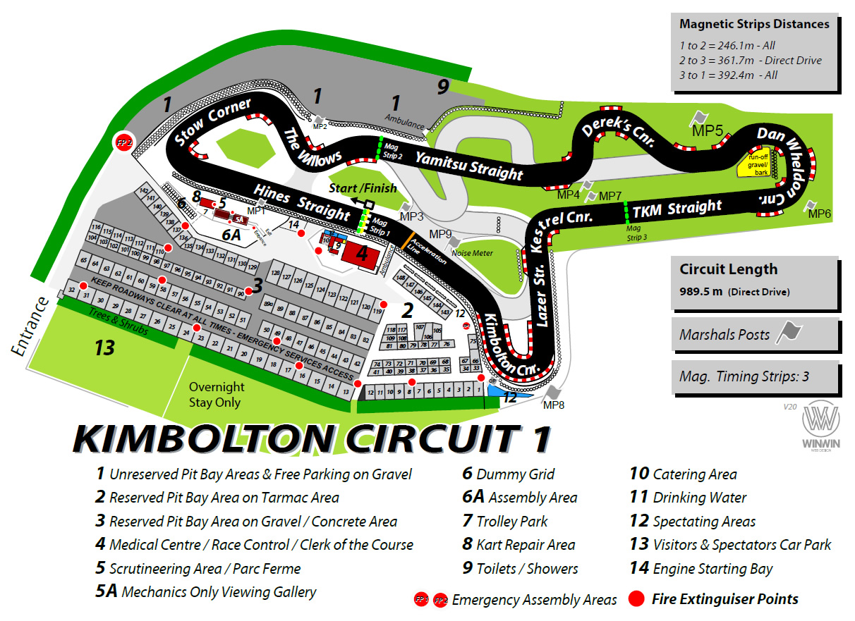 Map Of Uk Race Tracks.Track Maps Records Hkrc